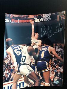 Bill Walton Signed Autographed Photo - COA - Boston Celtics