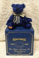 MOHAIR RARE BEAR MERRY THOUGHT England made true collectible numeroted