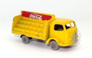 LESNEY MATCHBOX NO. 37 COCA-COLA KARRIER BANTAM - GREY PLASTIC WHEELS!