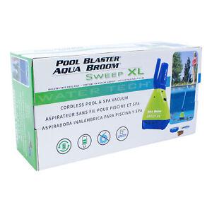 Pool Blaster Aqua Broom Sweep XL Cordless Pool and Spa Vacuum 15001TL USA Stock