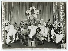 Photo Teddy Piaz - Revue Topless French Cancan - Tirage argentique d'époque -