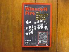 "SAM  HEYS  Signed Book(THE WINECOFF FIRE""(Winecoff Hotel)-1998 Edition Hardback)"