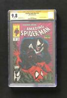 AMAZING SPIDER-MAN #316 CGC 9.8 SS SIGNED STAN LEE VENOM APP MCFARLANE KEY 300 1