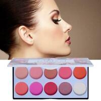 POPFEEL10 Farben Matte Blush Palette O5N3
