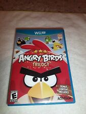 Angry Birds Trilogy (Nintendo Wii U, 2013)