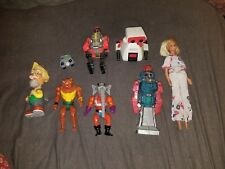 Vintage Action Figure Toy Lot Mixed