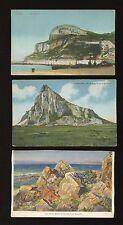 Pre - 1914 Collectable Gibraltar Postcards