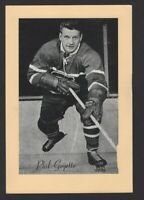 1944-63 Beehive Group II Montreal Canadiens Photos #242 Phil Goyette