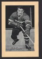 1944-63 Beehive Group II Montreal Canadiens Photos #242 Phil Goyette