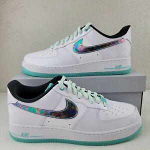 Nike Air Force 1 '07 LV8 Abalone Iridescent Tropical Miami DD9613-100 Men
