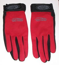 Ladies Extra Small Red Aerocool Sports Fashion Gloves / Deodorization  Anti-Bact