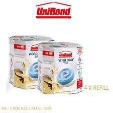 UniBond Aero 360 Vanilla Sensation Refill Tabs Moisture Absorber Dehumidifier