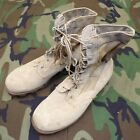 Original Desert Storm US Army 1st Pat Desert Combat Boots Leather/Nylon 7 1/2