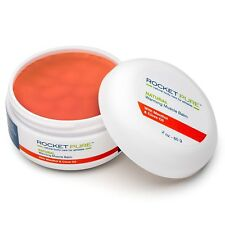 ROCKET PURE Natural Warming Muscle Balm. Relief Before or After Exercise