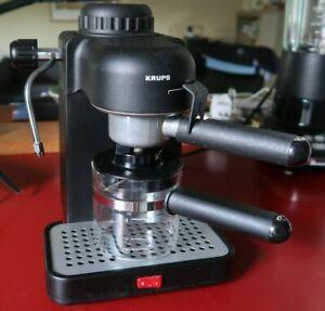 KRUPS Espresso Mini Cappuccino Coffeemaker Model 963/A Black