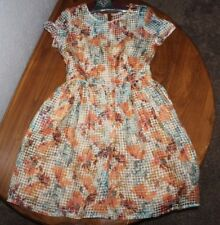 Women's  Danny & Nicole   semi see thru      floral   Dress  Size  8