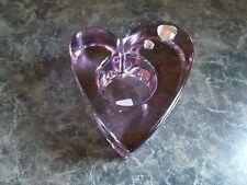 PartyLite Purple Passion Tealight Votive Candle Holder P7787 Nib
