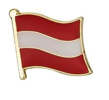 Austria Flag Pin Lapel Badge Austrian Österreich High Quality Gloss Enamel