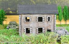 La stessa della Prima Guerra Mondiale, WWII tavolo abbandonati 25-28mm House-SIGNORE DELLA GUERRA-WARHAMMER r34