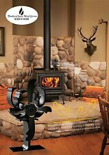 ANTLER Heat powered fan- Eco fan Stove combustion wood heater Ecofan-