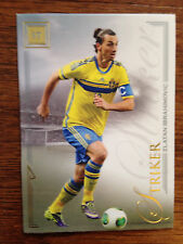 2016 Futera Unique Soccer Card - Sweden IBRAHIMOVIC Mint