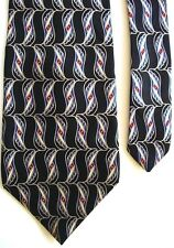 "Pierre Cardin Men's Silk Novelty Neck Tie Black 4"" x 59"""