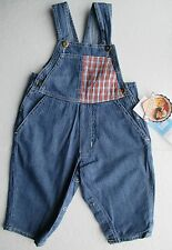 New dungarees for boys or girls 6m blue
