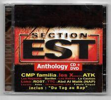 CD + DVD RAP FRANCAIS / SECTION EST - ATK , N.A.P , X MEN , LOKO .. / 16 TITRES