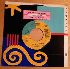 Frank Sinatra 45 Fly Me To The Moon / The Last Dance  w/ts