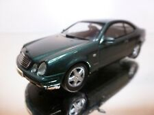 HERPA MERCEDES BENZ CLK 230 KOMPRESSOR - GREEN METALLIC 1:43 - EXCELLENT - 5