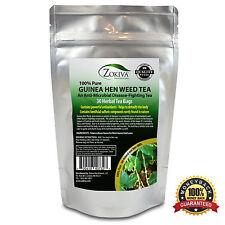 Guinea Hen Weed Tea - Anamu 100% Pure (30 Bags) All-Natural Immune Boosting Tea