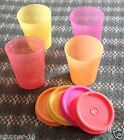 Tupperware Expression colors Midgets set of 4 -60 ml capacity each..New
