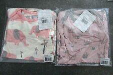 2 New Bestaroo Modal Gown Pink Elephants & Princess Crowns 0 - 3 mo