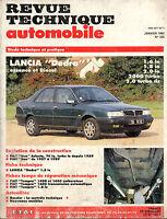 RTA revue technique automobile n° 535 LANCIA DEDRA