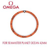 ΩΩ OMEGA Seamaster Planet Ocean Orange Bezel Insert For 42mm Models 168.1653  ΩΩ