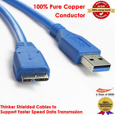 SuperSpeed USB 3.0 Cable,Type A Male to Type B Micro Male 3 FT, 100% Pure Copper