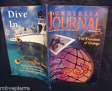 The undersea journal Padi 1999 scuba diving rivista sub subacquea subacqueo dive