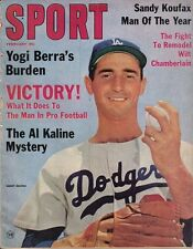 1964 (Feb.) Sport Magazine, Baseball, Sandy Koufax, Los Angeles Dodgers ~ Good