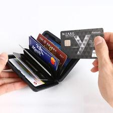 Metal Wallet Business ID Credit Card Holder Anti RFID Scanning Aluminum Case