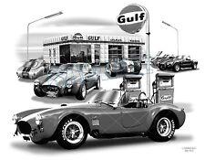 COBRA 64,65,66 MUSCLE CAR ART AUTO PRINT   #9000