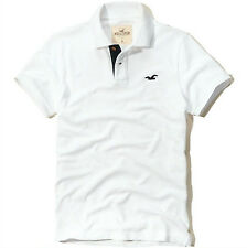 NEW HOLLISTER MENS GUYS CLASSIC FIT PIQUE COTTON POLO T SHIRT TOP BLOUSE TEE XL