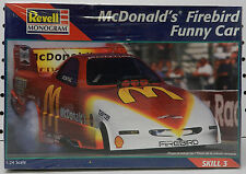 PONTIAC FIREBIRD MCDONALDS CRUZ DRAG RACE FUNNY CAR SEALED NOS REVELL MODEL KIT