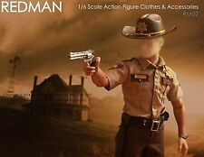 1/6 Scale REDMAN Sheriff Police Edition Package RM02 fit walking dead Hottoys