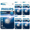 5 x Philips CR1620 3V Lithium Button Battery Coin Cell DL1620 - EXPIRY 05/2024