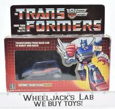 Skids MIB 100% Complete 1985 Vintage Hasbro Action Figure G1 Transformers