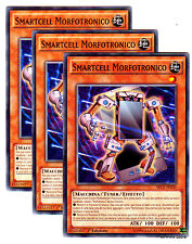 Set 3 Carte: SMARTCELL MORFOTRONICO SECE-IT030 Comune in Italiano YUGIOH