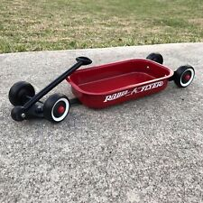 Custom Original Radio Flyer Little Red Wagon Lowrider No. 5 Metal Mini Wagon Art