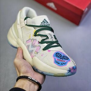 Adidas D.O.N Issue 2 GCA (Men Size 8.5) Donovan Mitchell Sneaker Dead Cream Shoe