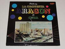 BAILE CON LA ORQUESTA ARAGON DE CUBA Lp RECORD RUBY ELP 1012