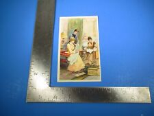 Antique Domestic Sewing Machine Company Trade Card Anthrol Massachusetts S4746